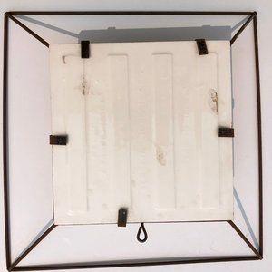 Vintage Wall Art - Vintage 50's Gladding McBean & Co Wire Frame Tile